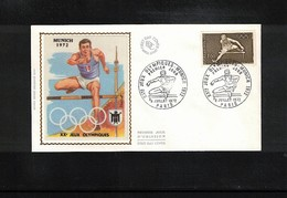 France 1972 Olympic Games Muenchen FDC - Sommer 1972: München