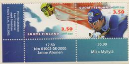 PIA - FINLANDIA  - 2001 : Campionati Del Mondo Di Sci A Lahti - (Yv 1519A) - Sci