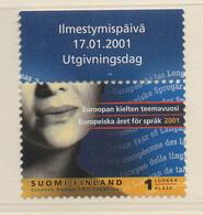 PIA - FINLANDIA - 2001  :  Anno Europeo Delle Lingue  -  (Yv 1520) - Nuovi