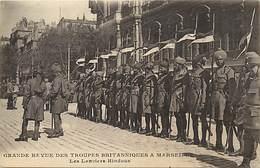 Themes Div-ref BB194- Guerre 1914-18- Inde - Armée Indienne -indian Army - Hindou -lanciers Hindous A Marseille - Guerre 1914-18