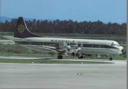 Mandala Airlines Lockheed L 188 Electra PK-RLE Giacarta, Indonesia - 1946-....: Era Moderna