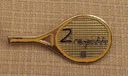 Broche Sport 007, Broche FFT Fédération Française De Tennis 2 Raquette - Tennis