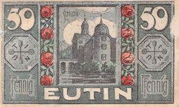 50 Pfg. Notgeld Eutin VG/G (IV) - Lokale Ausgaben