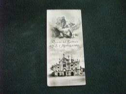 SANTINO HOLY PICTURE IMAGE SAINTE  RICORDO DAL SANTUARIO DI N. S. DI MONTALLEGRO - Religione & Esoterismo