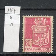 Algérie - Algerien - Algeria 1942-45 Y&T N°187 - Michel N°183 (o) - 60c Blason D'Oran - Algérie (1924-1962)
