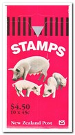 Nieuw Zeeland 1995, Postfris MNH, Farm Animals ( Booklet, Carnet ) - Boekjes
