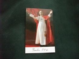 SANTINO HOLY PICTURE IMAGE SAINTE  PAPA PAOLO VI - Religión & Esoterismo