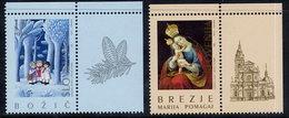 SLOVENIA 1995 Christmas MNH / **.  Michel 126-27 - Slovénie