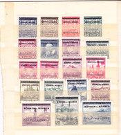 Germania-Protettorato Boemia E Moravia 1939 Serie Completa Nuova MNH** Firmata - Alemania