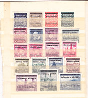 Germania-Protettorato Boemia E Moravia 1939 Serie Completa Nuova MNH** Firmata - Duitsland