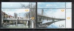 Slowenien / Slovenia / Slovenie 2018 Satz/set EUROPA ** - 2018