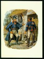 AKx Postilions, Hessen-Darmstadt 1820, Uniforms - Poste & Facteurs