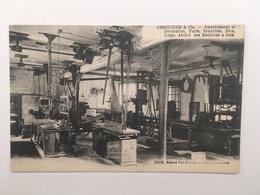 BRUXELLES - SERRURIER & CIE - ATELIER DES MACHINES A BOIS - Autres