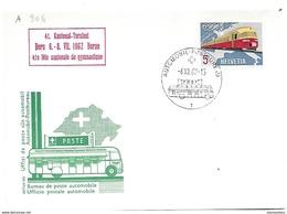 """166 - 51 - Carte Pen Avec Oblit Spéciale """"41. Kantonal Turnfest Bern 1962"""" - Marcophilie"""