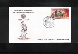 Monaco 1997 France Football Championship 1.division FDC - Fussball