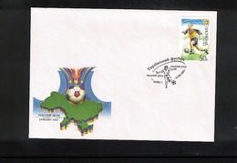 Ukraine 2001 Ukrainian Football FDC - Fussball