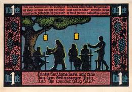 1 Mark Notgeld Grünberg I/ Schl.UNC (I) - Lokale Ausgaben