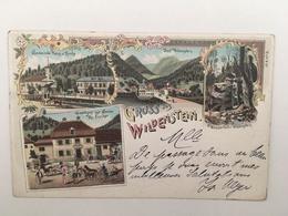WILDENSTEIN - GASTHAUS ZUR SONNE H. FISCHER - LITHO - Allemagne