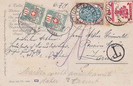 Wilhelm Tell - Int. Frankatur - 1919      (A-83-160723) - Strafportzegels