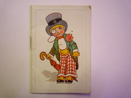 2019 - 1631  Joli Mini Calendrier  1934   (format 5 X 7,5cm) - Kalenders