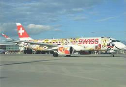 Swiss Airlines CS300 HB-JCA At LHR - 1946-....: Era Moderna