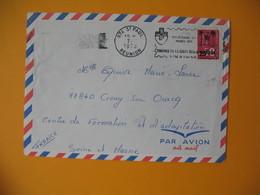 Lettre De La Réunion CFA  1973  N° 393  Marianne De Béquet De Saint Paul Pour La France EM Croix Rouge - Reunion Island (1852-1975)
