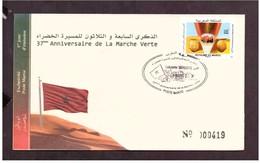 FDC. Maroc 2012.  37 ème Anniversaire De La Marche Verte. N° 1643. - Feesten