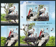 "BELARUS/Weißrussland EUROPA 2019 ""National Birds"" Set & Minisheet** - 2019"
