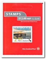 Nieuw Zeeland 2012, Postfris MNH, View, Birds ( Booklet, Carnet ) - Boekjes