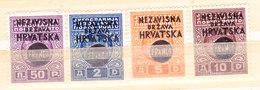 Croazia 1941-Serie Completa Nuova MLLH - Croatie