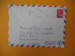 Lettre De La Réunion CFA  1973  N° 393  Marianne De Béquet De Saint Pierre Pour La France - Reunion Island (1852-1975)