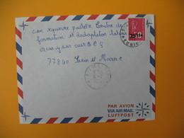 Lettre De La Réunion CFA  1973  N° 393  Marianne De Béquet De Sainte Clotilde Pour La France - Reunion Island (1852-1975)