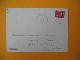 Lettre De La Réunion CFA  1973  N° 393  Marianne De Béquet De Sainte Suzanne Pour La France - Reunion Island (1852-1975)