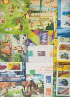 Timbres En Vrac, Tbs Au Détail En Euros Des Années 2000 Faciale 56 Euros - Stamps