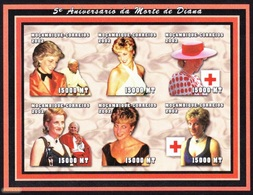 Princess Diana/ Lady Diana - Red Cross / Mozambique 2002 - Imperf. MNH - Croix-Rouge
