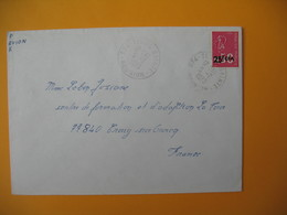 Lettre De La Réunion CFA  1973  N° 393  Marianne De Béquet De Terre Sainte Pour La France - Reunion Island (1852-1975)