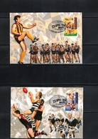 Australia 1996 Rugby - Centenary Of The AFL 2 Maximumcards - Rugby