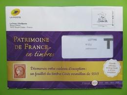 Philaposte - PAP International 250 G - Phil@poste - Patrimoine De France En Timbres Avec Enveloppe Réponse - Prêts-à-poster: TSC Et Repiquages Semi-officiels