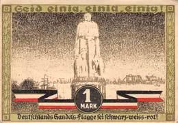 1 Mark  Notgeld Hamburg VF/F (III) - Lokale Ausgaben