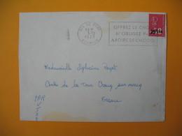 Lettre De La Réunion CFA  1973  N° 393  Marianne De Béquet Le Port  Pour La France - Reunion Island (1852-1975)