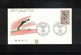 France 1968 Olympic Games Grenoble FDC - Winter 1968: Grenoble