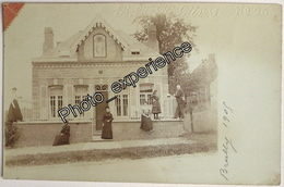 CPA Carte Photo Maison Institut Religieux ? Religion ? Village 1905 BREILLY Somme 80 - Frankrijk