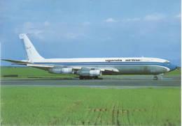 Uganda Airlines Boeing B707 YA-GAF - 1946-....: Era Moderna