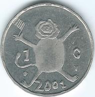 Netherlands - Beatrix - 2001 - 1 Gulden - KM233 - Last Gulden - [ 3] 1815-… : Royaume Des Pays-Bas
