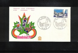 France 1976 Olympic Games Montreal FDC - Sommer 1976: Montreal