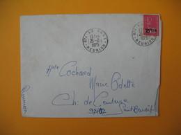 Lettre De La Réunion CFA  1973  N° 393  Marianne De Béquet De Sainte Anne Pour Saint Benoit - Reunion Island (1852-1975)