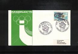Andorra 1976 Olympic Games Innsbruck FDC - Winter 1976: Innsbruck