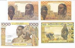 Burkina Faso 5 Note Set 1959 COPY - Burkina Faso