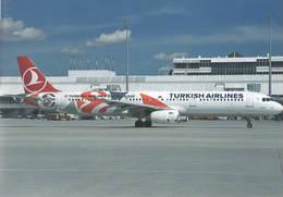 Turkish Airlines Euroleague A321-200 TC-JRO At MUC - 1946-....: Era Moderna
