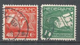 Netherlands 1928 Year, Used Stamps Set Mi.# 213-14 - Period 1891-1948 (Wilhelmina)